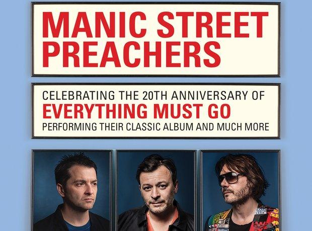 Manic Street Preachers announcement 2015