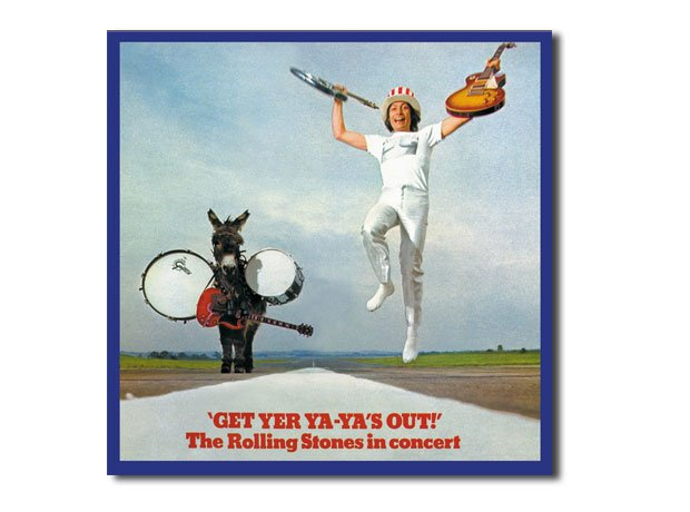 The Rolling Stones - Get Yer Ya-Ya's Out artwork