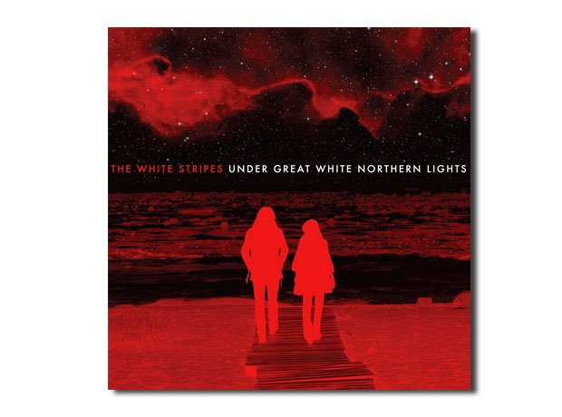 The White Stripes - Under Great White Northern Lights artwork