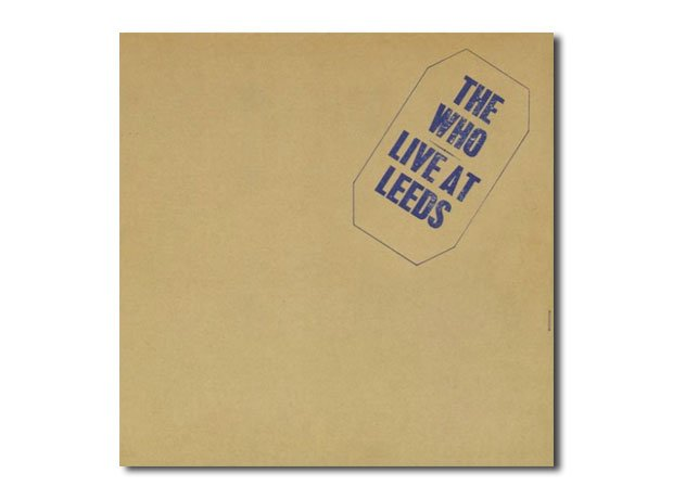 The Who - Live At Leeds artwork