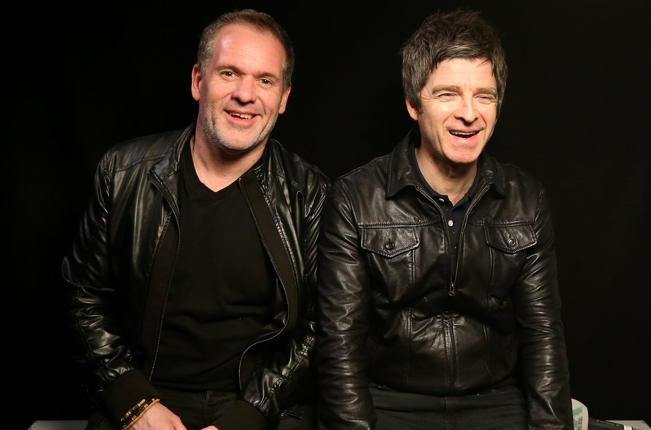 Chris Moyles and Noel Gallagher share a joke!
