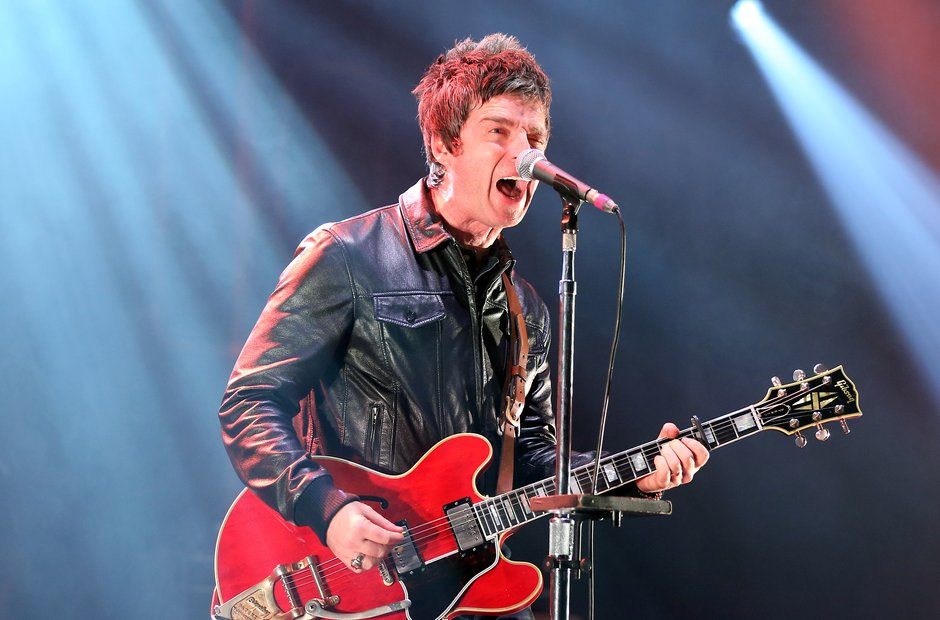 Noel Gallagher live onstage for Radio X