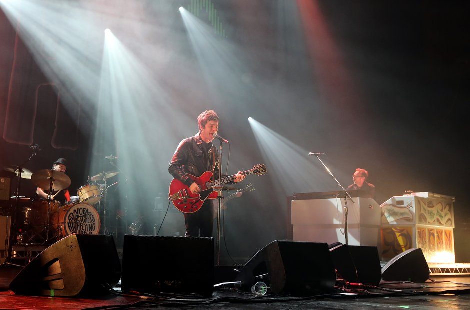 Noel Gallagher performs live in Manchester