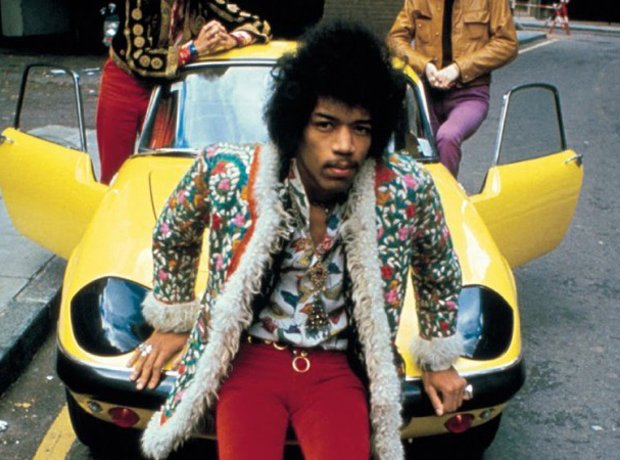 Rock Star Cars Jimi Hendrix