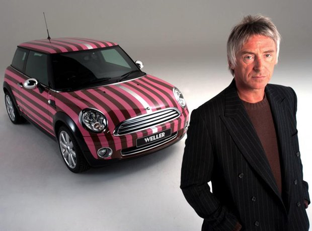 Rock Stars Cars Paul Weller