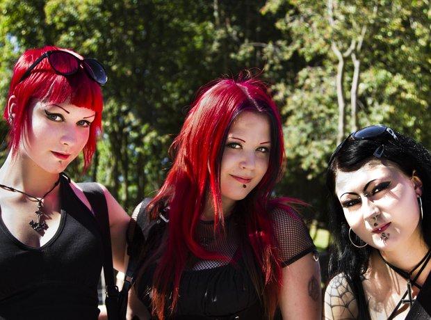 Gallery Emo Metal girls