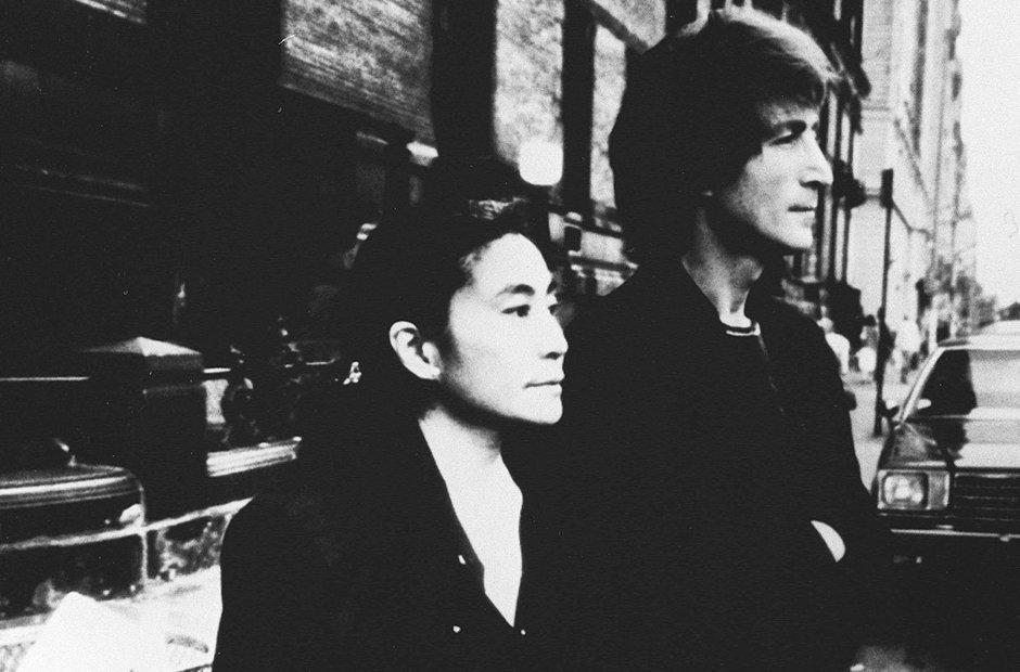 John Lennon Yoko Ono New York 1980