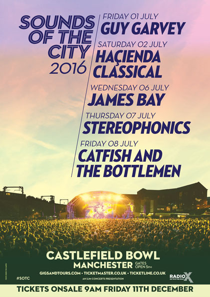 Sound of the city festival image