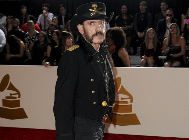 Lemmy from  Motorhead at the GRAMMYs 2015