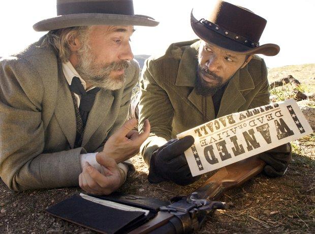 Tarantino movies Django Unchained