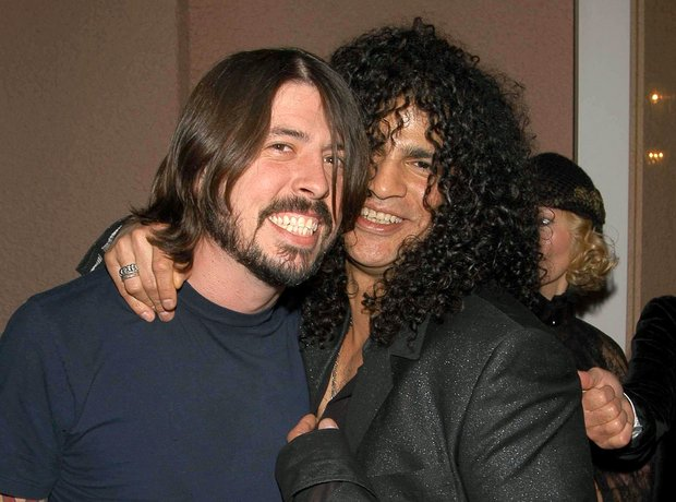 Dave Grohl and Slash