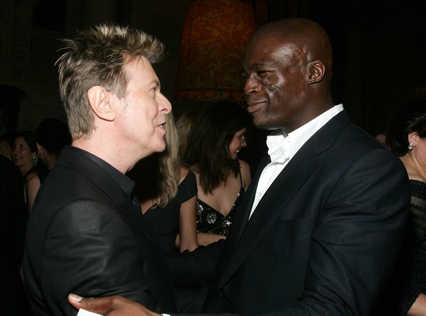 David Bowie and Seal