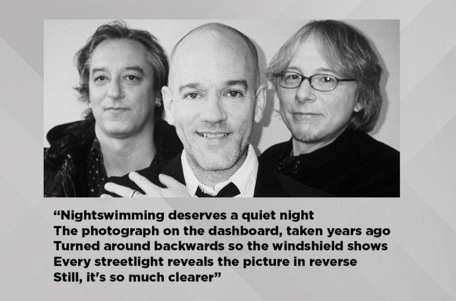 R.E.M - Nightswimming