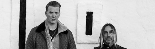 Josh Homme and Iggy Pop 2016