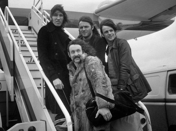 Rock Stars On Planes Pink Floyd