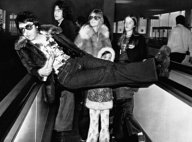 Rock Stars On Planes Planes Paul McCartney