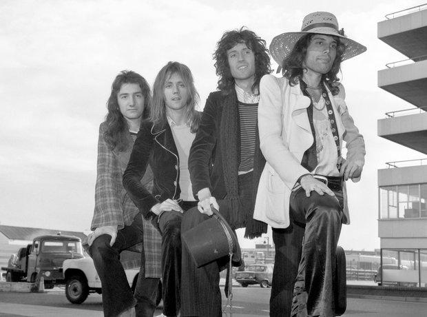 Rock Stars On Planes Queen