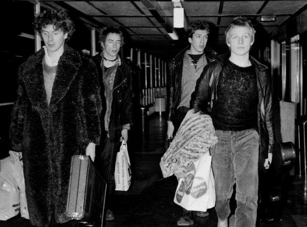 Rock Stars On Planes Sex Pistols