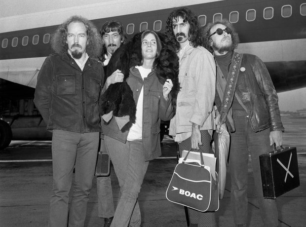 Rock Stars On Planes The Mothers of Invention