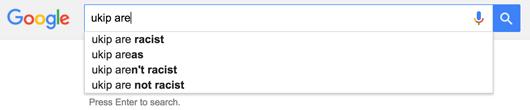 UKIP google search sreengrab