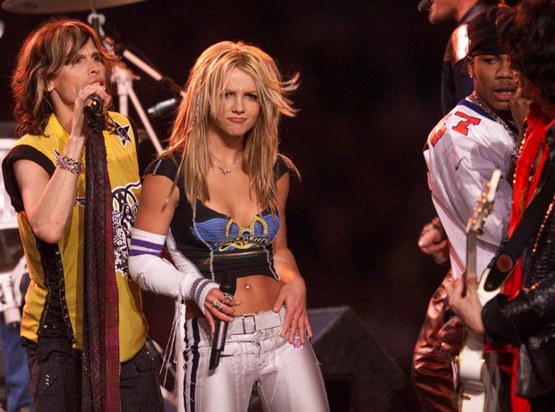 2001: Aerosmith, 'N Sync, Britney Spears, Mary J.