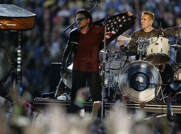Superbowl 2002 U2
