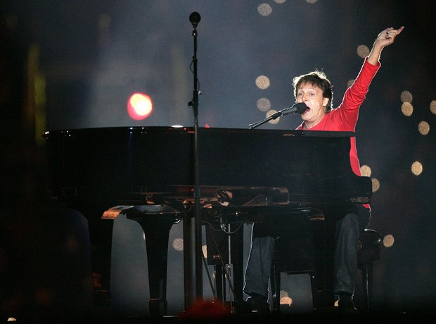 Superbowl 2005: Paul McCartney