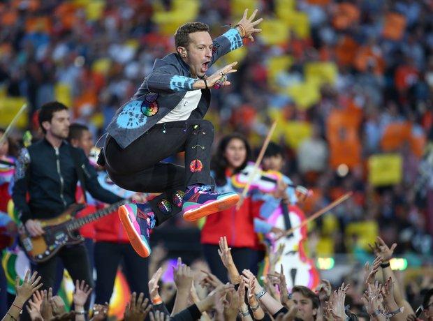 Coldplay Superbowl 2016