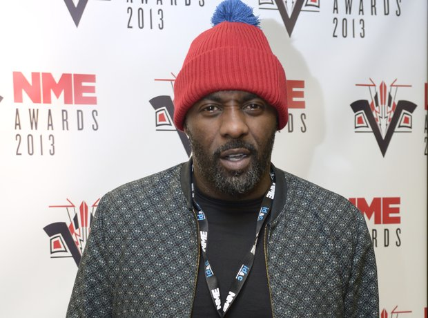 Idris Elba at the NME Awards 2013