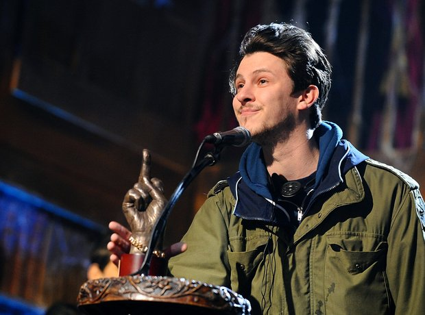 Jamie T at the NME Awards 2010