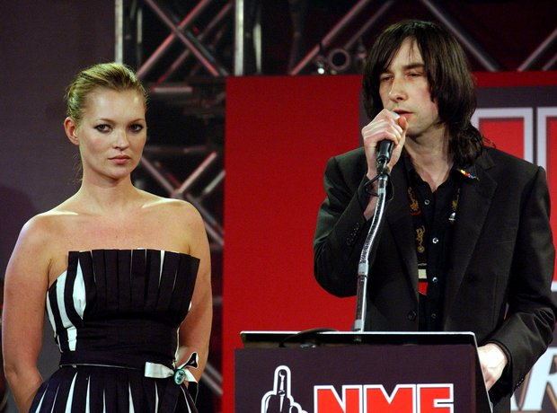 Kate Moss and Bobby Gillespie at the NME Awards 20