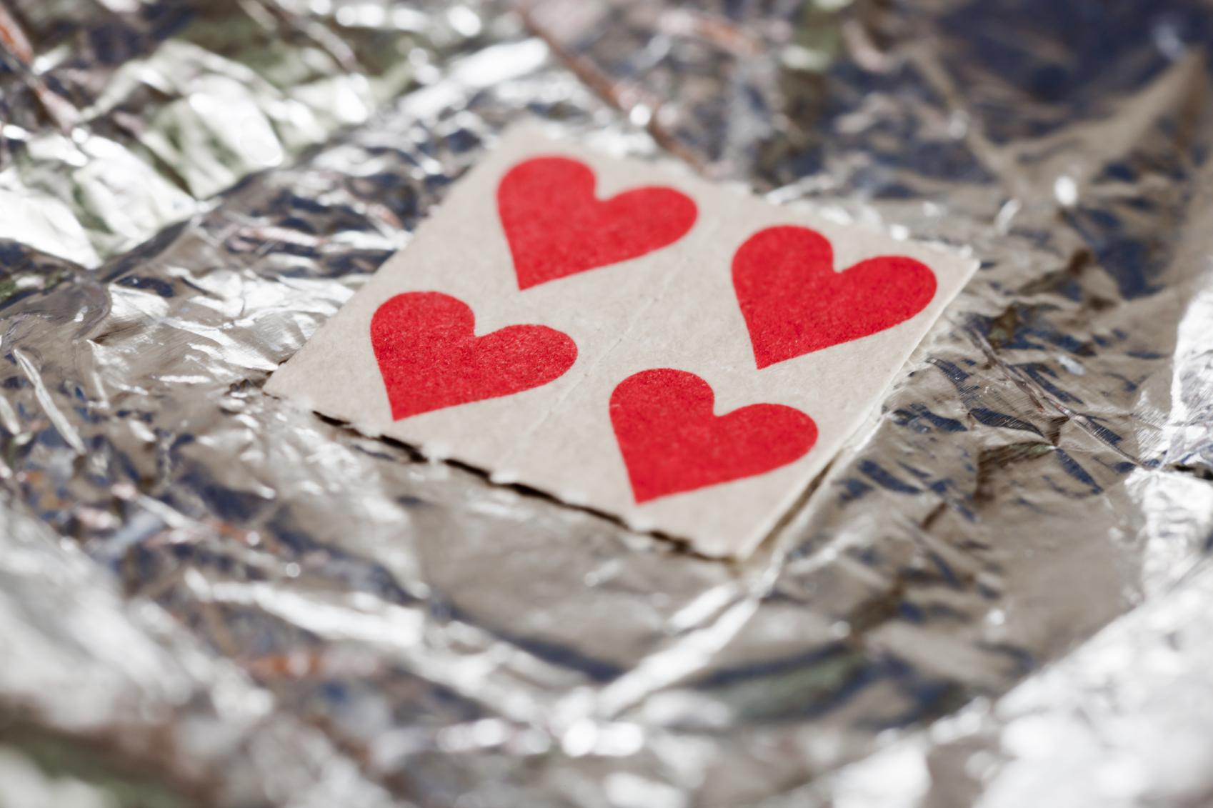 LSD tabs Heart