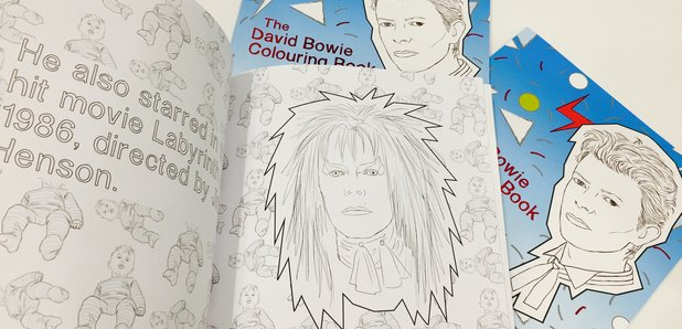 There S A New David Bowie Colouring Book For Sale Radio X