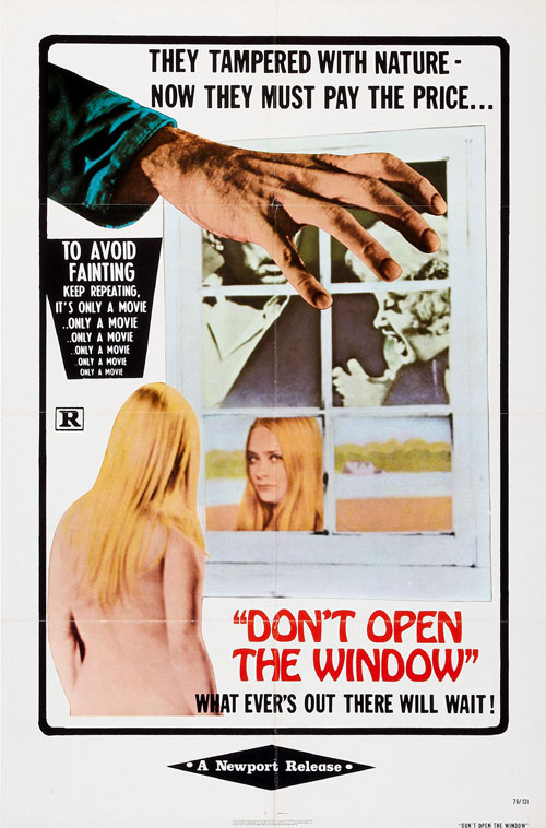 Don't Open The Window Poster