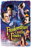 Frankenstein's Castle Of Freaks VHS