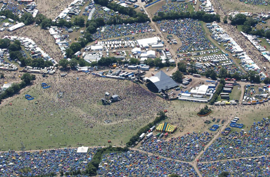 Pyramid Stage Glastonbury image