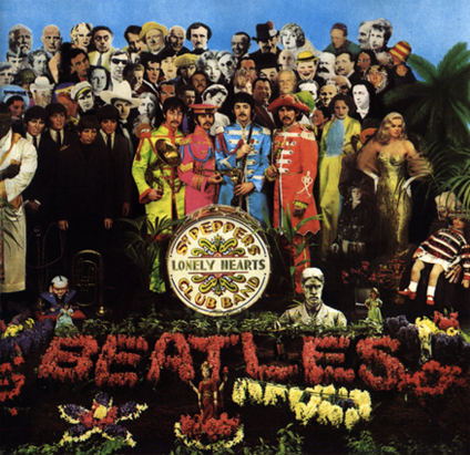 Sgt Pepper Lonely Heart Album Cover