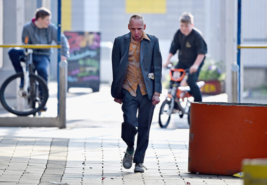 Trainspotting 2 first images Spud, Ewen Bremmer wa