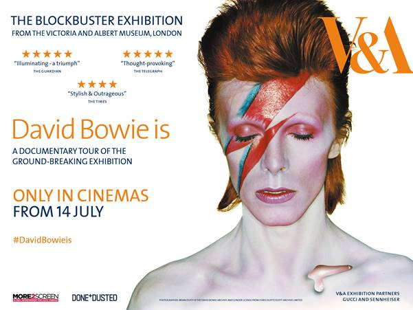 David Bowie Is Documentary Film Poster