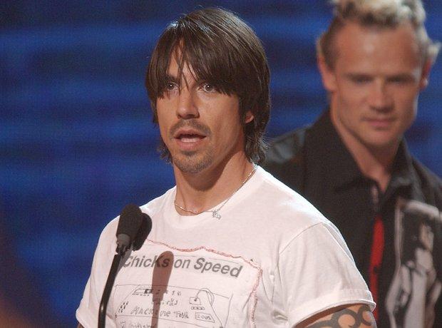 Anthony Kiedis 2002 ESPN Sports & Music Awards