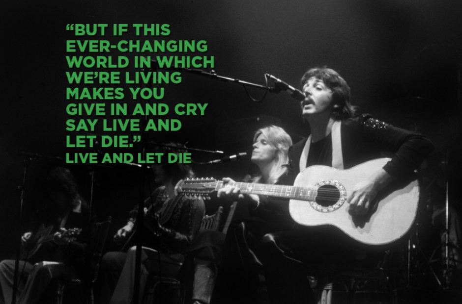 Paul McCartney - Live And Let Die