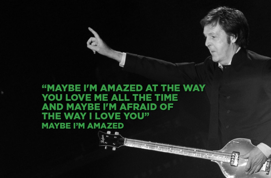 Paul McCartney - Maybe I'm Amazed
