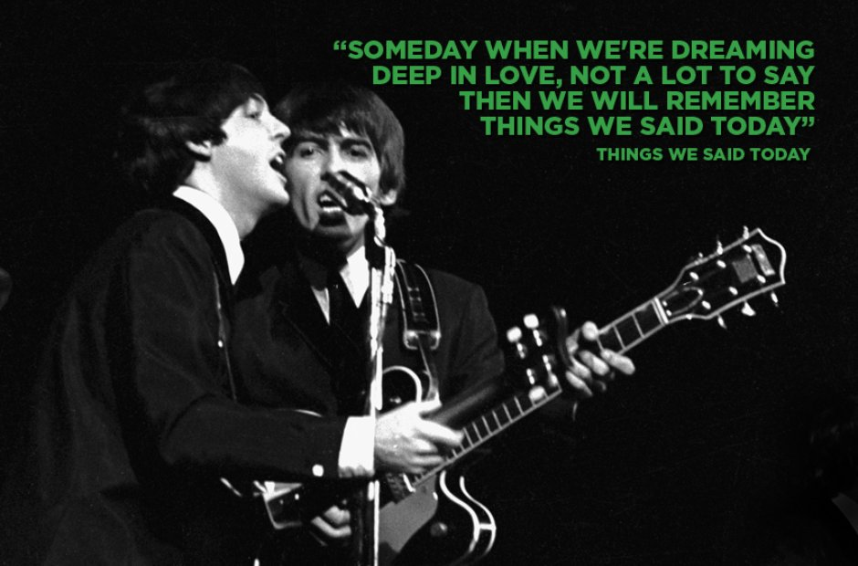 Paul McCartney - Things We Said Today