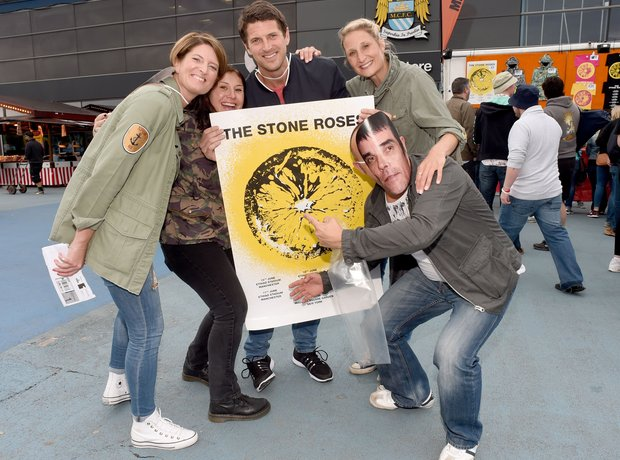 Stone Roses on tour in Manchester