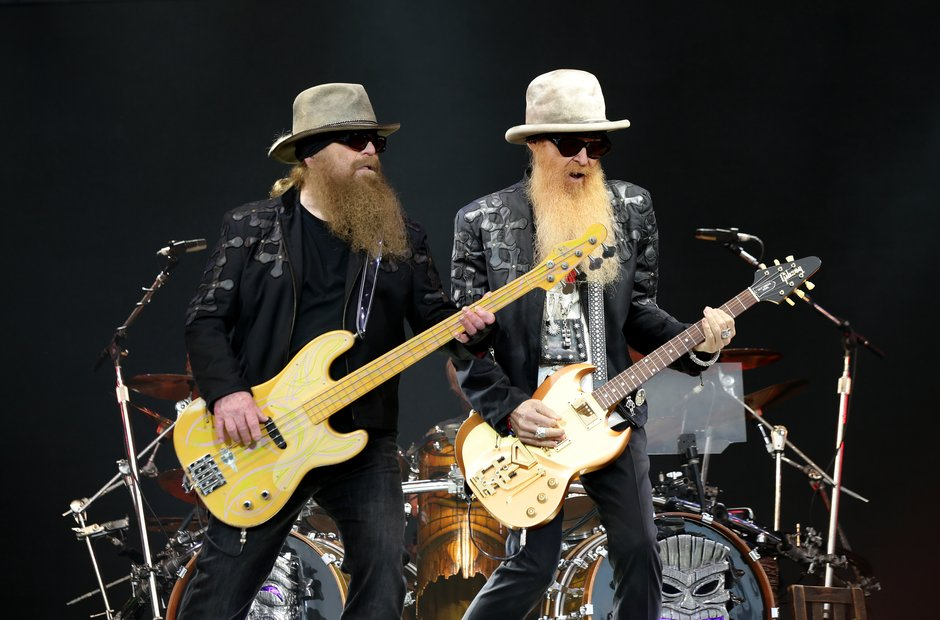 Glastonbury 2016 - ZZ Top