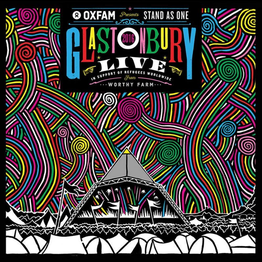 Glastonbury Live Album Artwork 2016