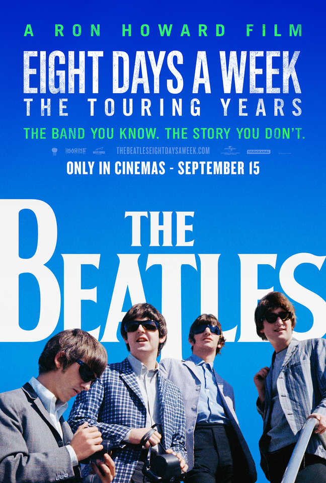 The Beatles Eight Days A Week Poster