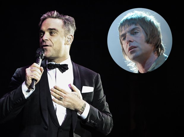 Liam Gallagher's 20 Greatest Insults - On Robbie Williams