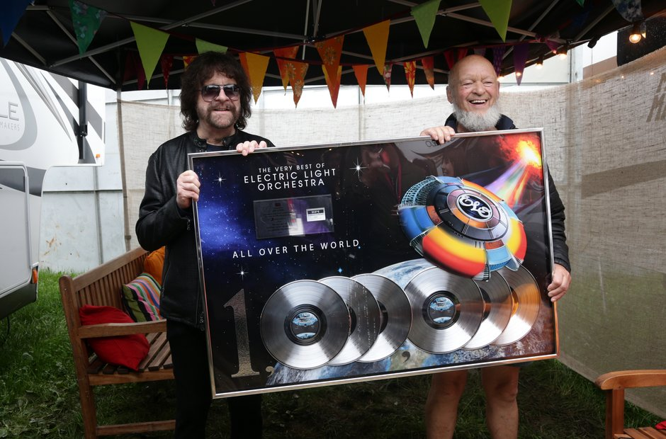 Glastonbury 2016 Sunday - Jeff Lynne and Michael E