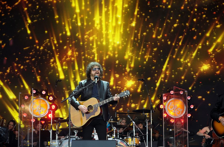 Glastonbury 2016 Sunday - Jeff Lynne's ELO.